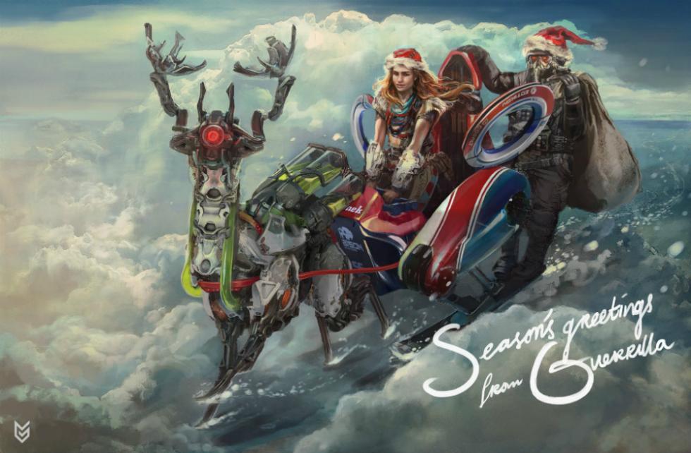 Las imágenes más divertidas para felicitar la Navidad
