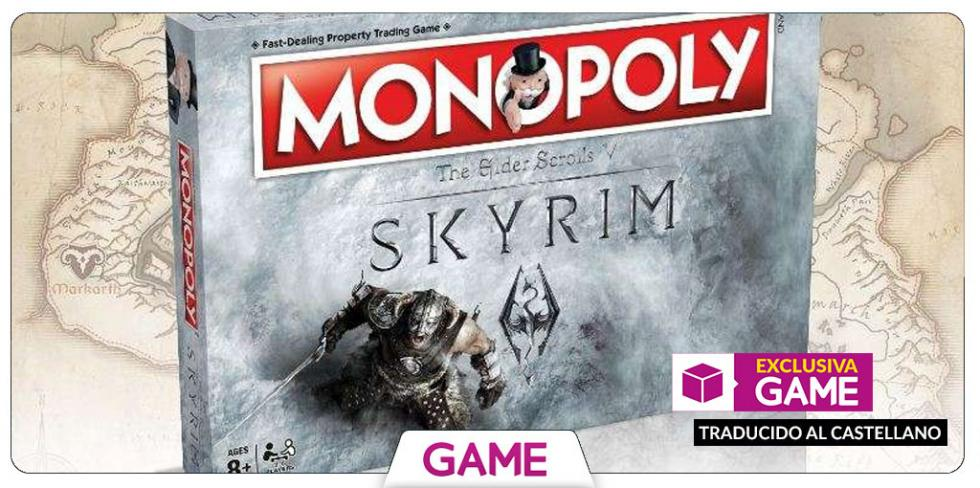 Monopoly de Skyrim en castellano exclusivo de GAME
