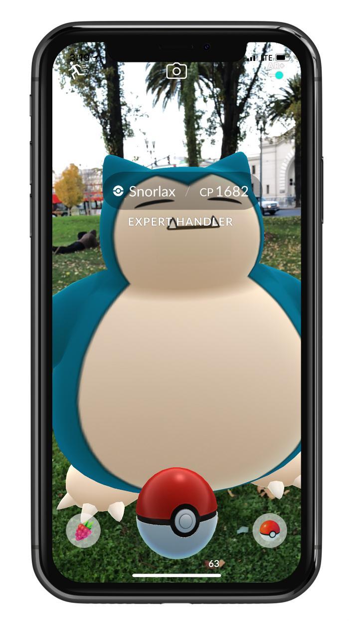 Pokémon GO AR+
