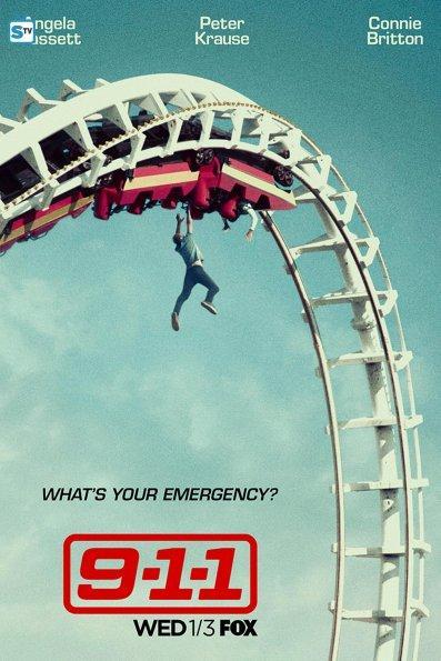 Posters e imágenes del reparto de 9-1-1, la nueva serie de Ryan Murphy