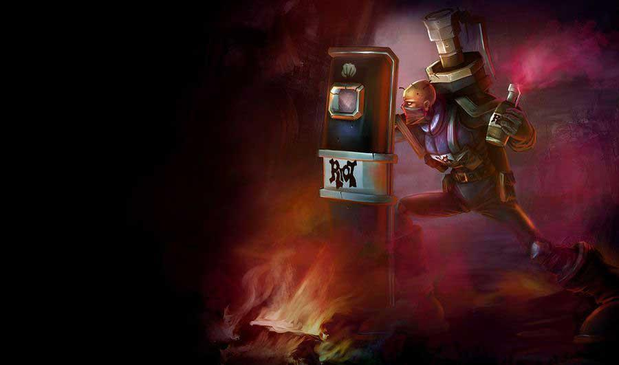 Riot Squad Singed - League of Legends - eSports
