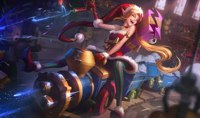 Skins navideñas de League of Legends eSports