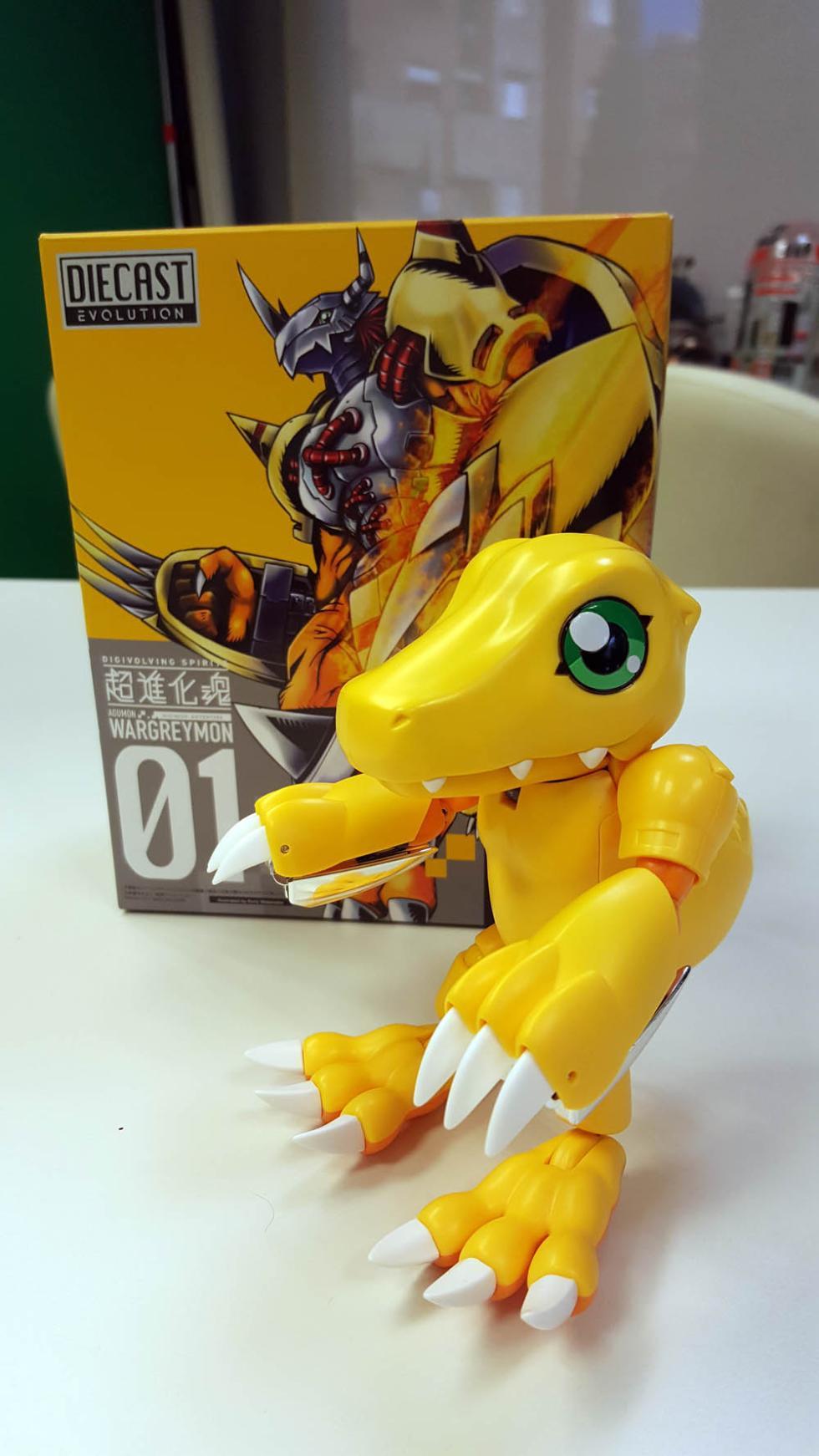 Agumon - Digimon Digievolving Spirits