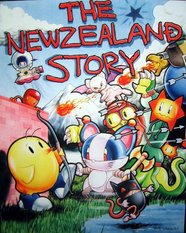 Bob Wakelin - New Zealand Story
