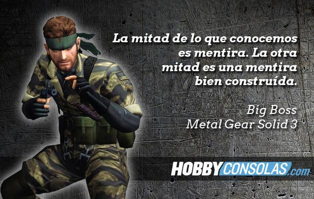 Citas Metal Gear Solid 3