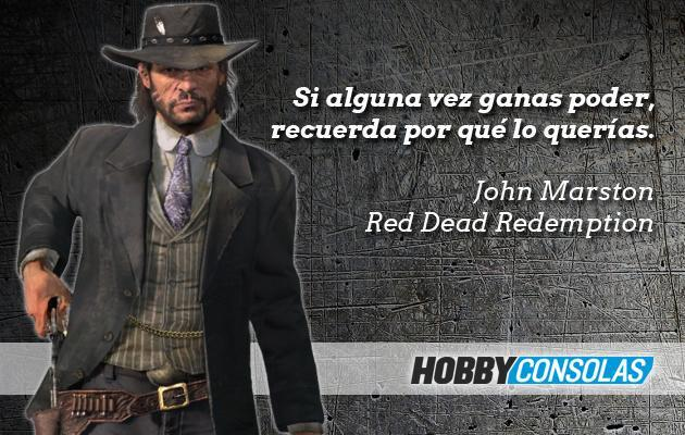 Citas Red Dead Redemption