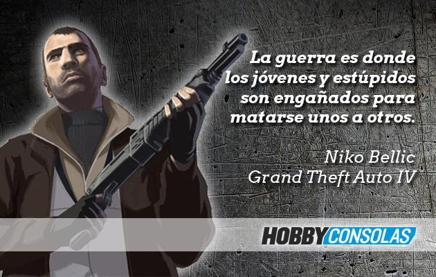 Citas videojuegos Niko Bellic