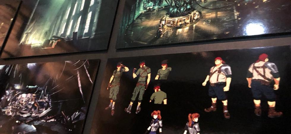 Diseño de Final Fantasy VII Remake