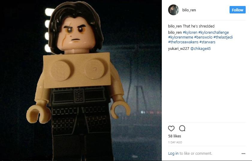 Star Wars, Kylo Ren, Instagram