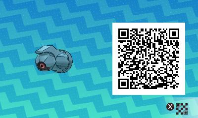 Pokémon Ultrasol y Ultraluna Códigos QR