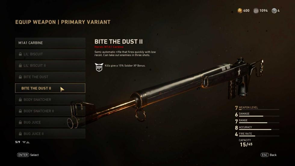 Skin de M1A1 Carbine - eSports