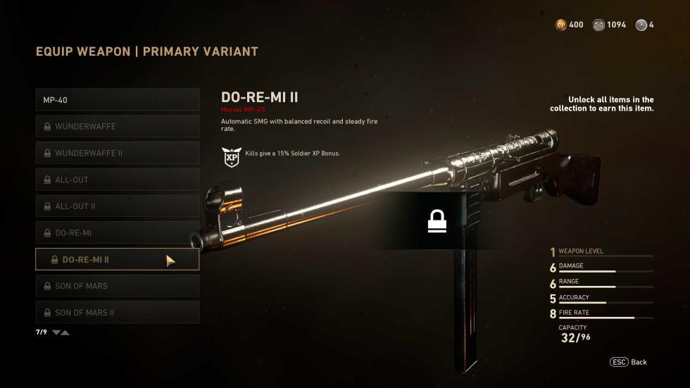 Skin de MP-40 - eSports