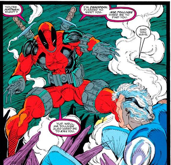 Los 10 momentos más absurdos de Deadpool en los cómics