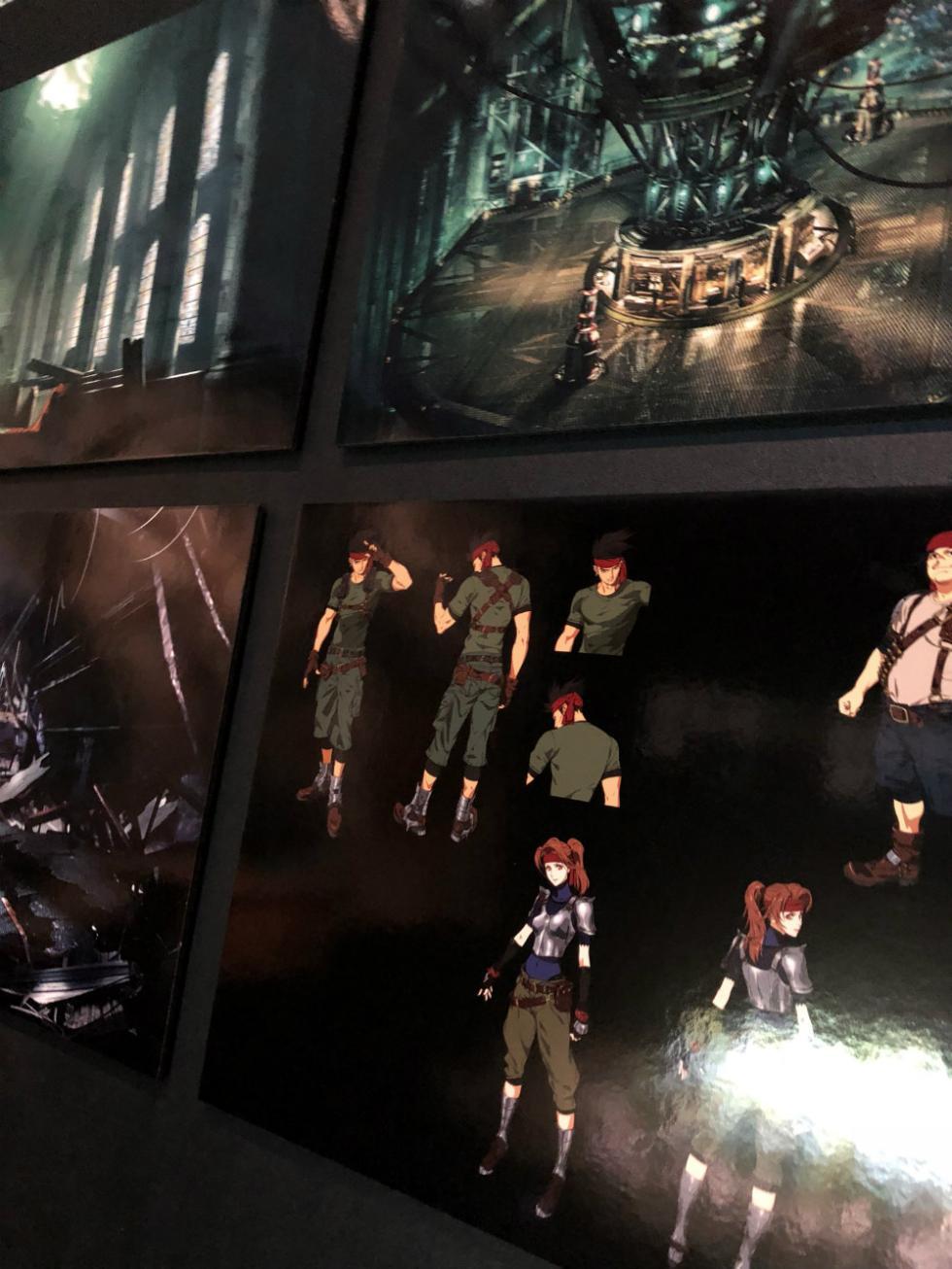 Diseños de Final Fantasy VII Remake