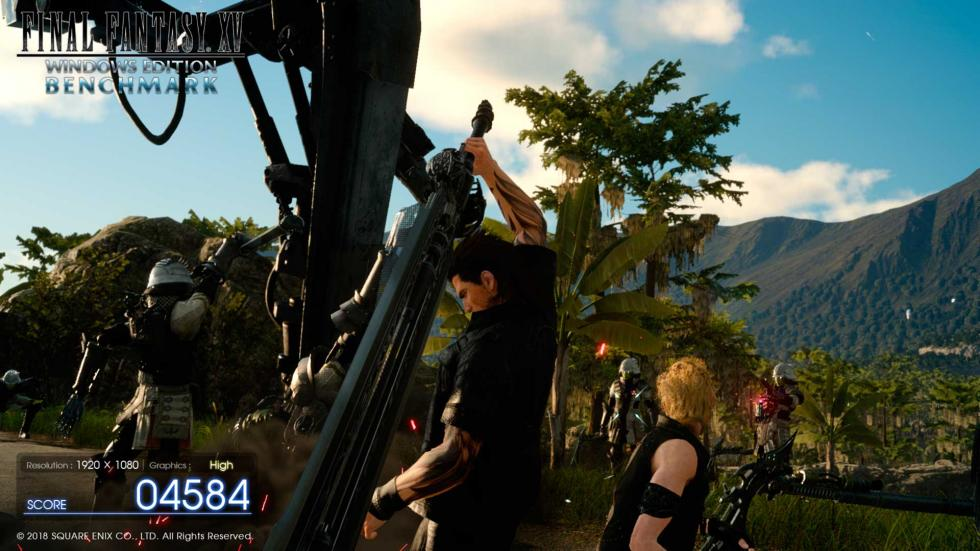 Final Fantasy XV Benchmark - eSports