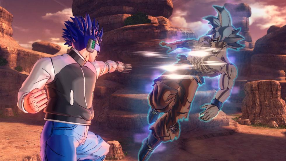 Goku Ultra Instinto en Dragon Ball Xenoverse