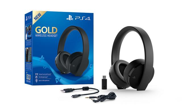Gold Wireless Headset - eSports
