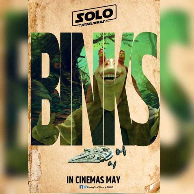 Han Solo - Pósters fanart de la película