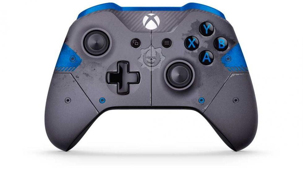 Mando Gears of War azul - eSports