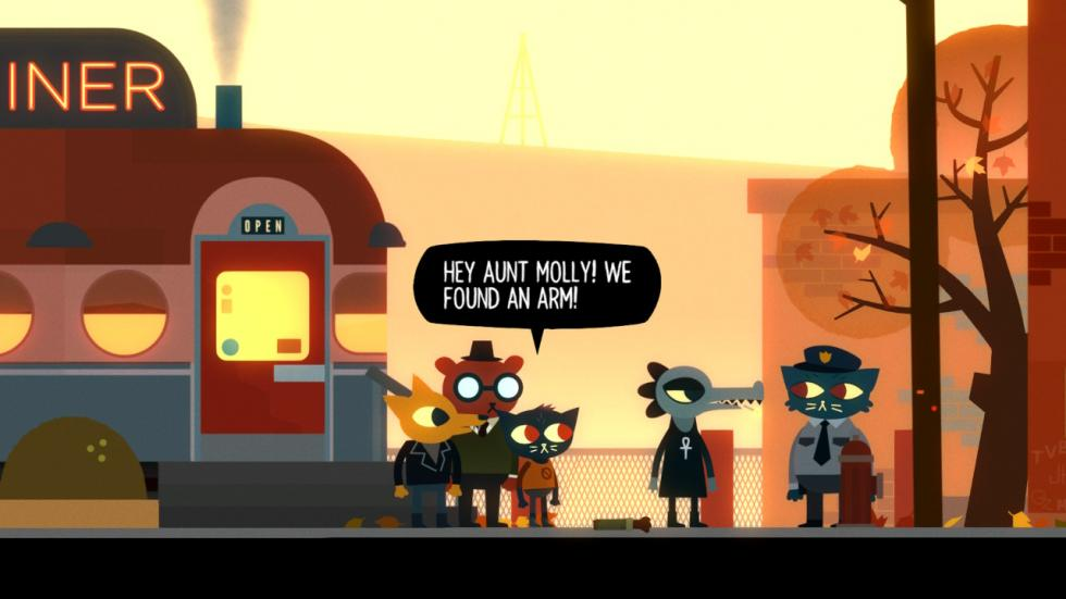 Night in the woods 4