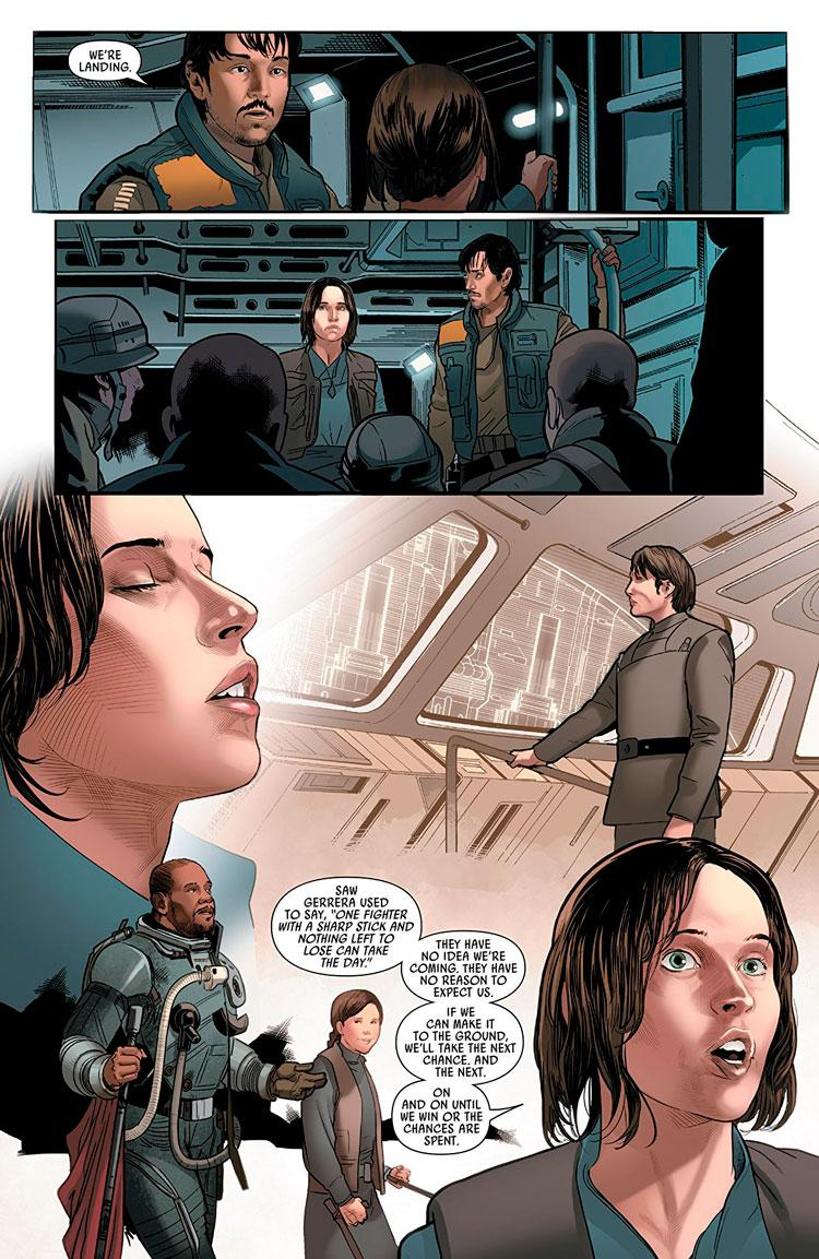 Reseña de Rogue One, el cómic de la película de Star Wars