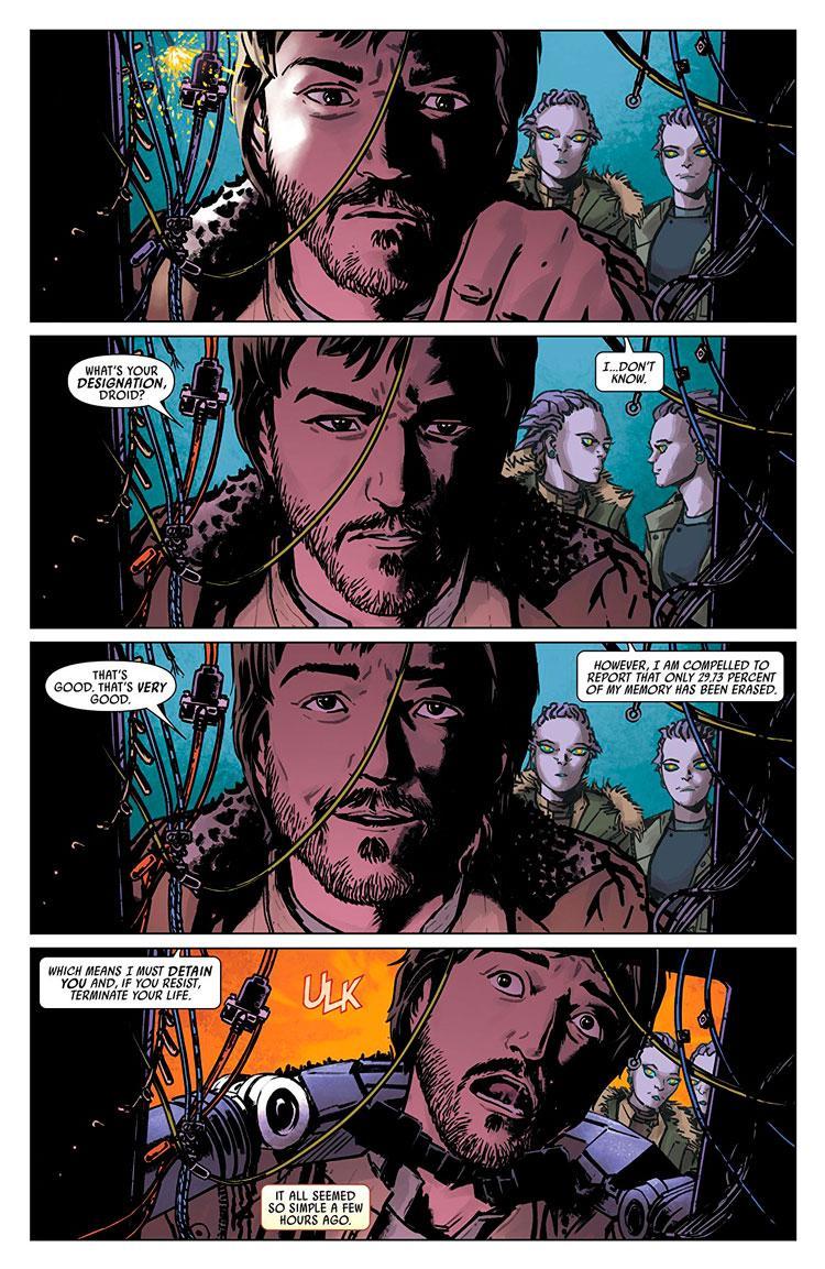 Rogue One, el cómic de la película de Star Wars