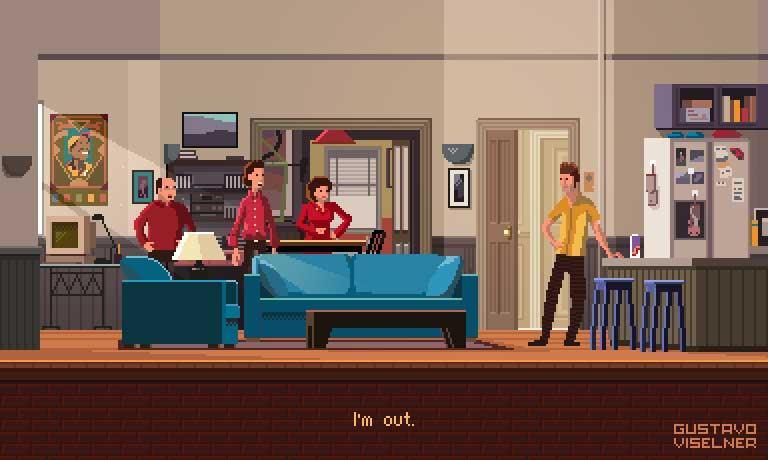 Las series más populares en pixel art