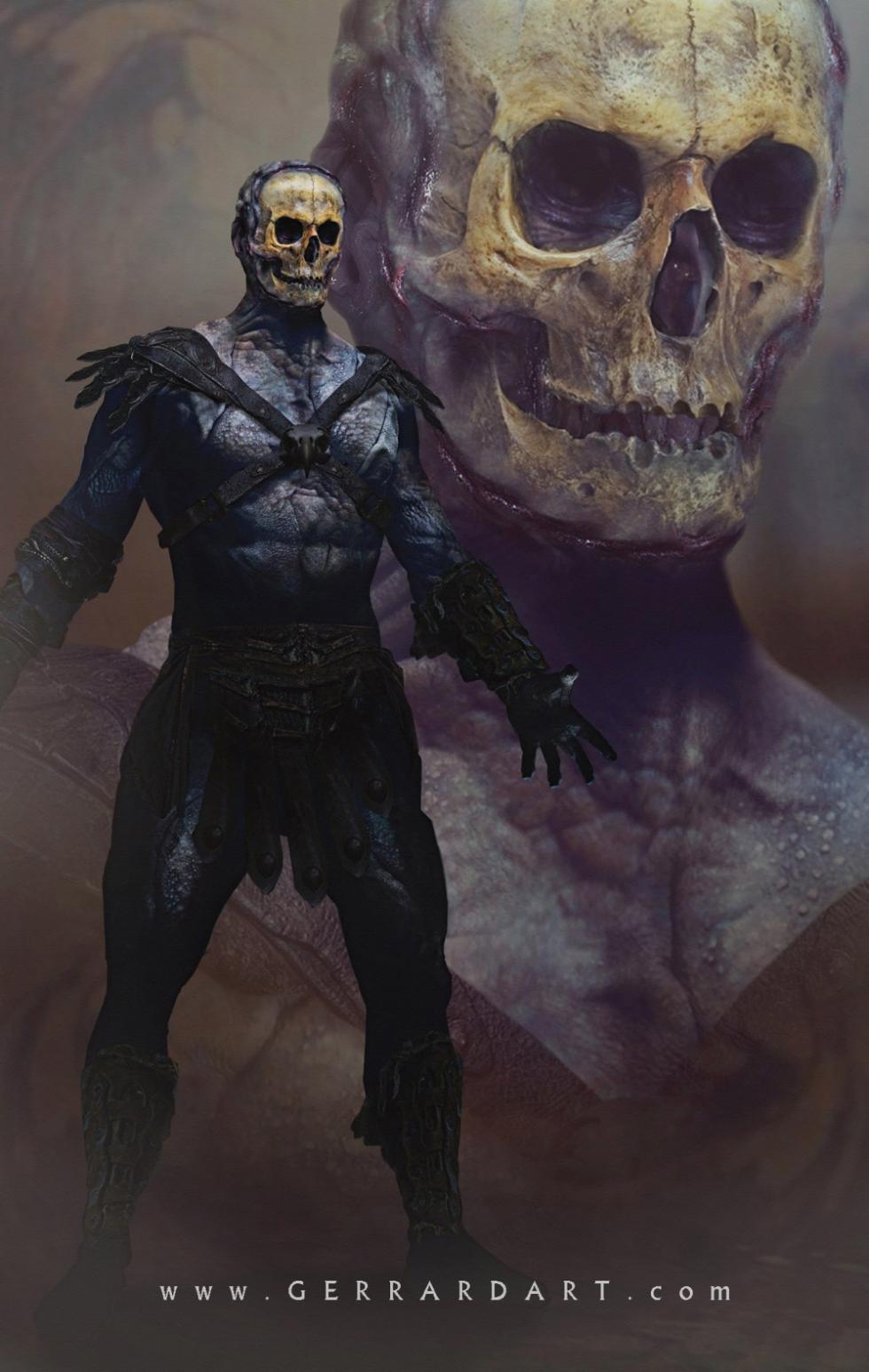 Concept art Skeletor 2