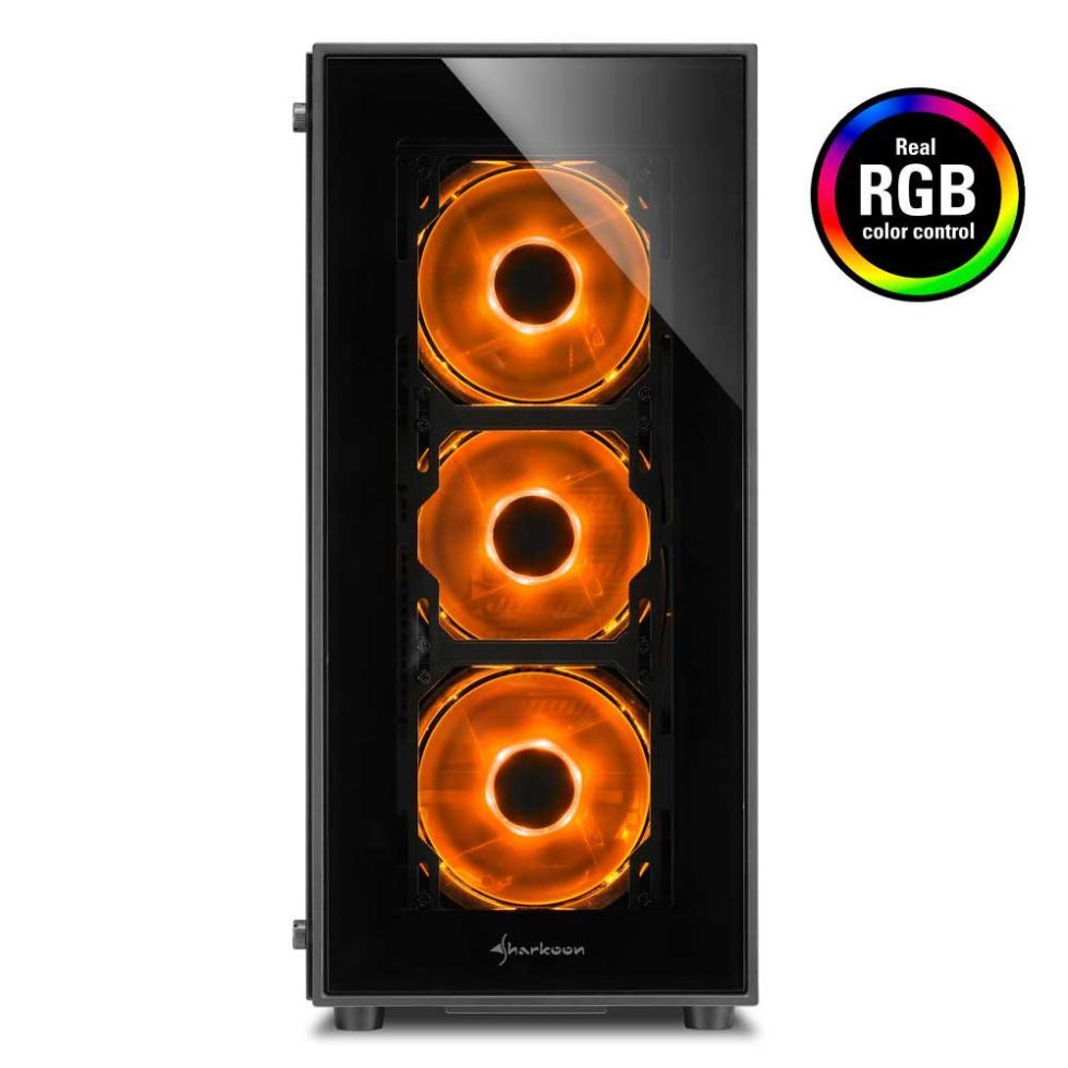 Caja Sharkoon TG5 RGB - eSports