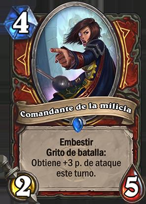 Comandante de la milicia - eSports