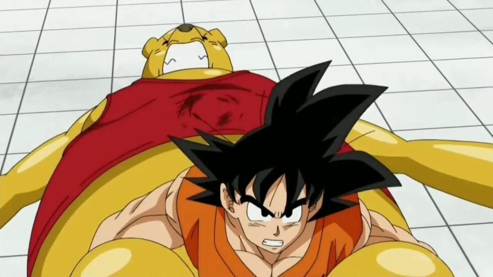 Goku VS Botamo Dragon Ball Super