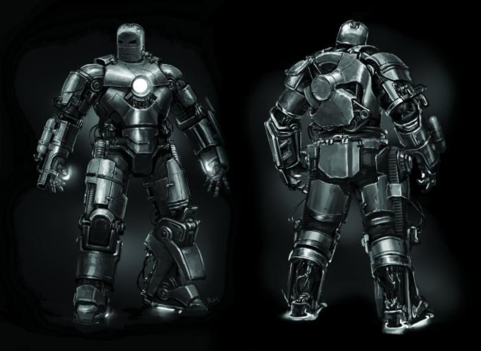 Iron Man - Concept art original de la película