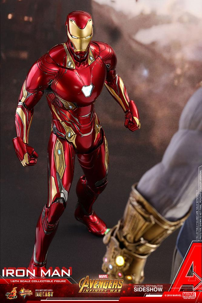 Iron Man Vengadores: Infinity War. Hot Toys