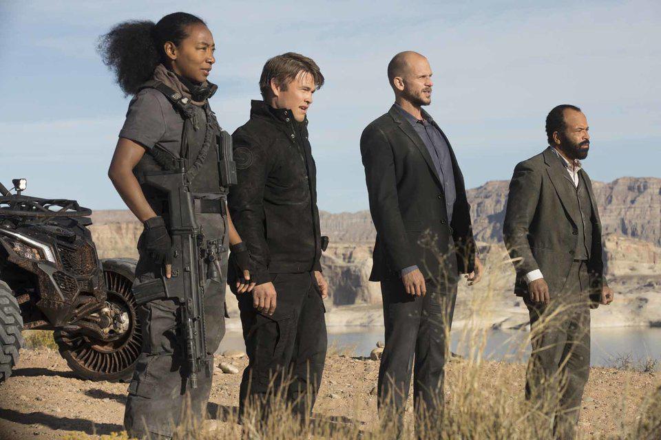 La seguridad del parque en la temporada 2 de Westworld