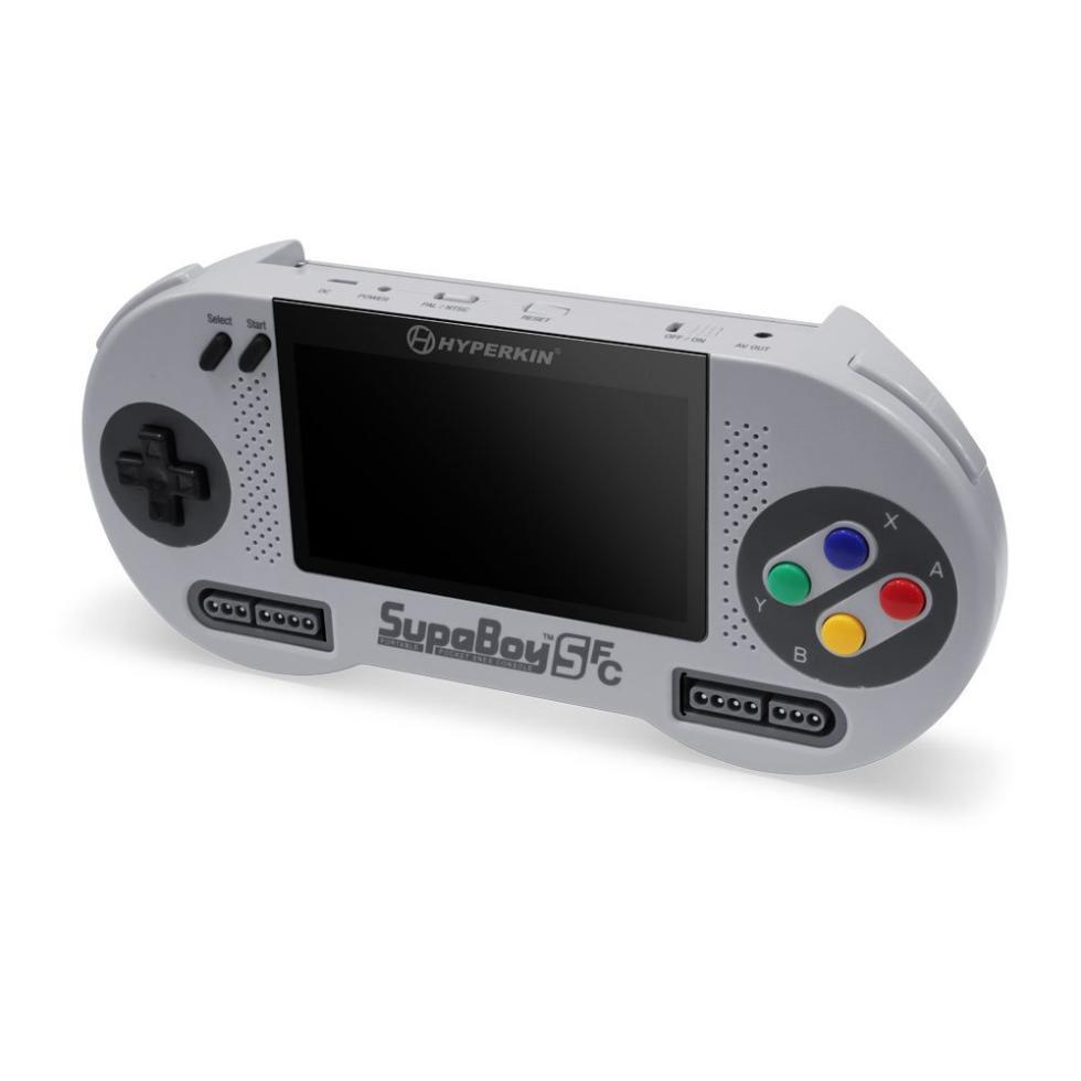 SupaBoy SFC - La nueva SNES portátil de Hyperkin