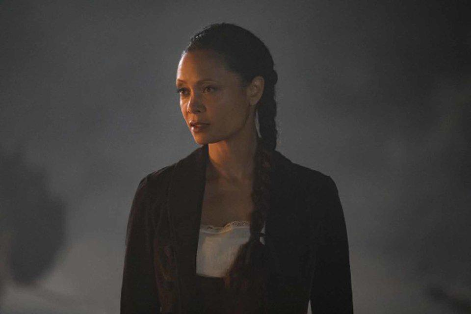 Thandie Newton en la temporada 2 de Westworld