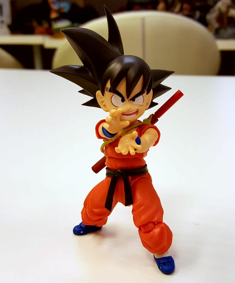 Dragon Ball - Goku de SHFiguarts