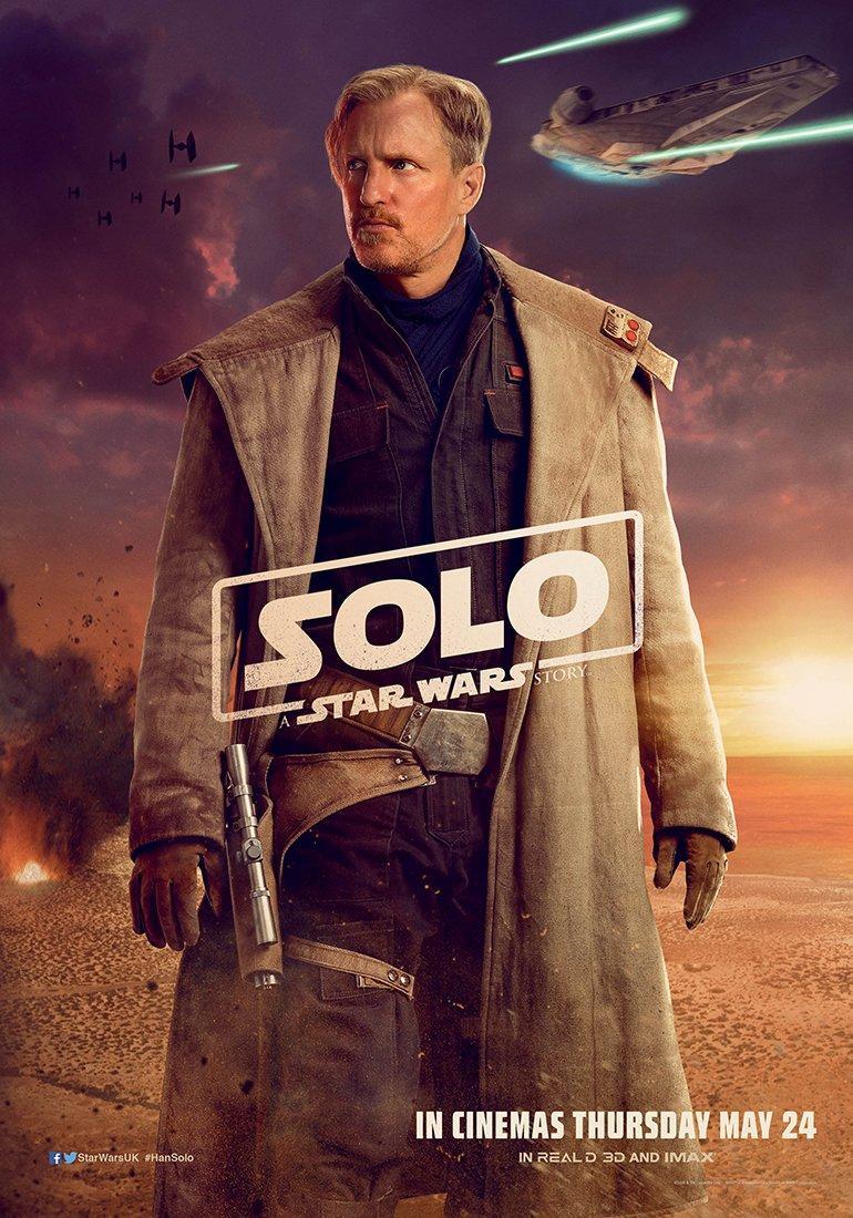 Han Solo: Una historia de Star Wars - Póster de la película en Reino Unido