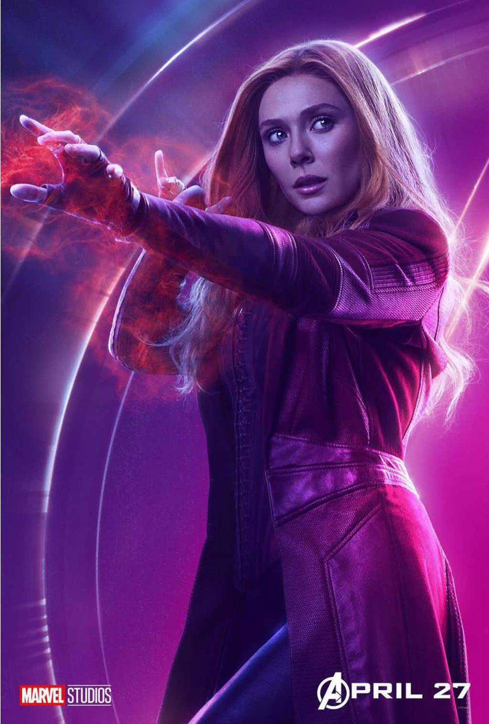 Vengadores: Infinity War - Pósters individuales de los superhéroes