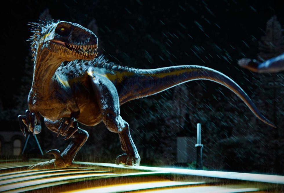 Indoraptor Jurassic World: el reino caído