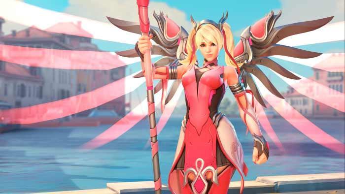 Mercy rosa - esports