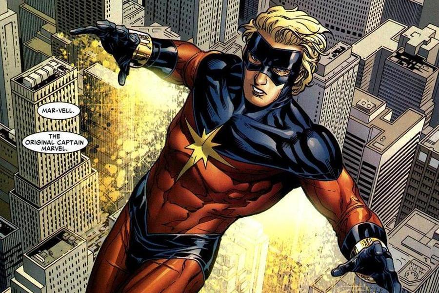 Personajes que han sido Capitán Marvel en los comics