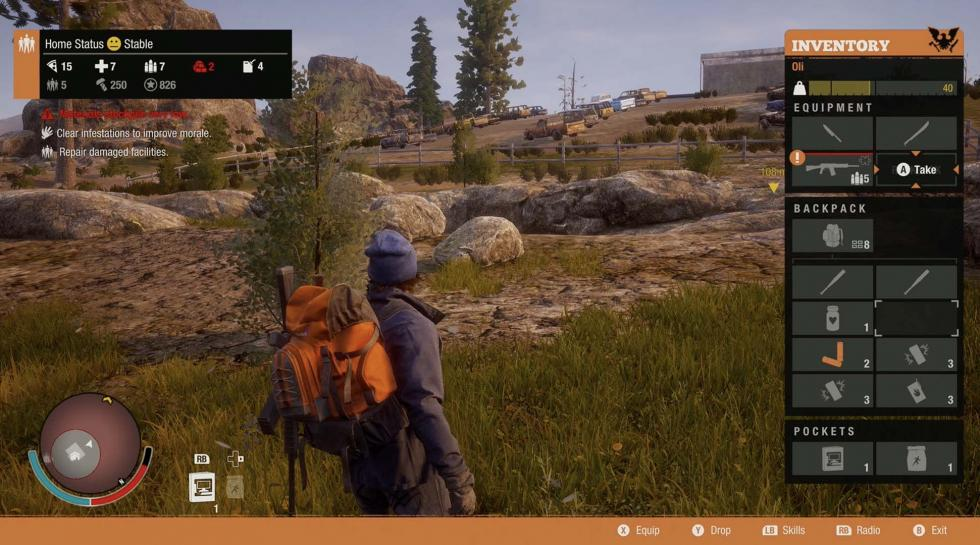 State of Decay 2 Xbox One X