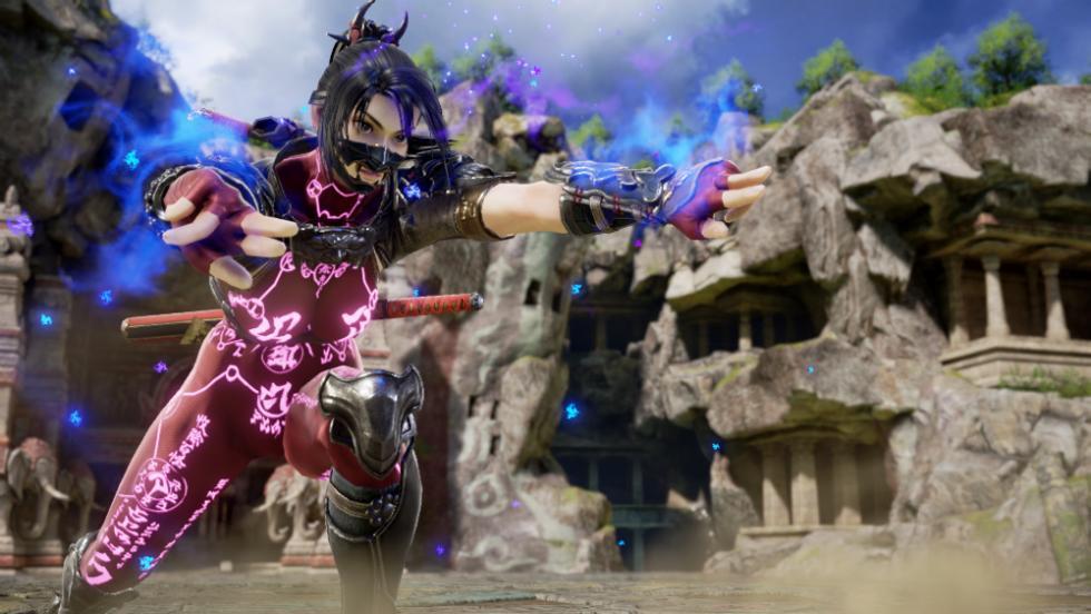 Taki en SoulCalibur VI