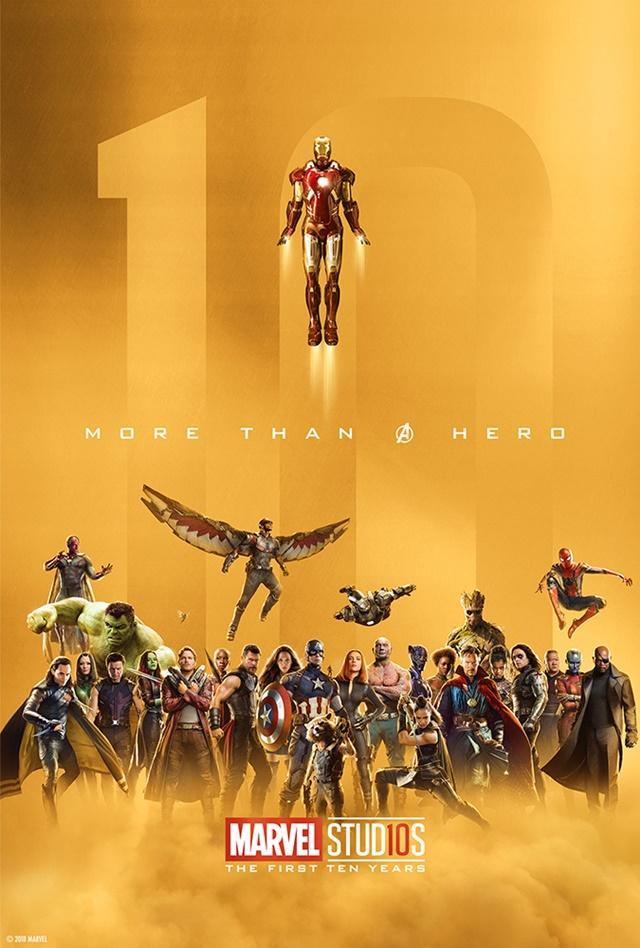 Décimo aniversario Marvel Studios