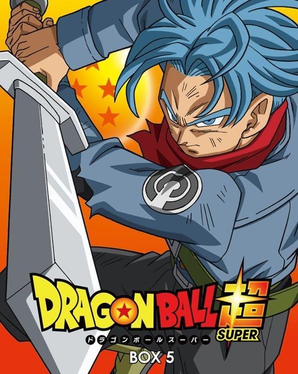 Dragon Ball Super Box DVD y Blu-ray
