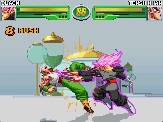 Hyper Dragon Ball Z Black y Zamas