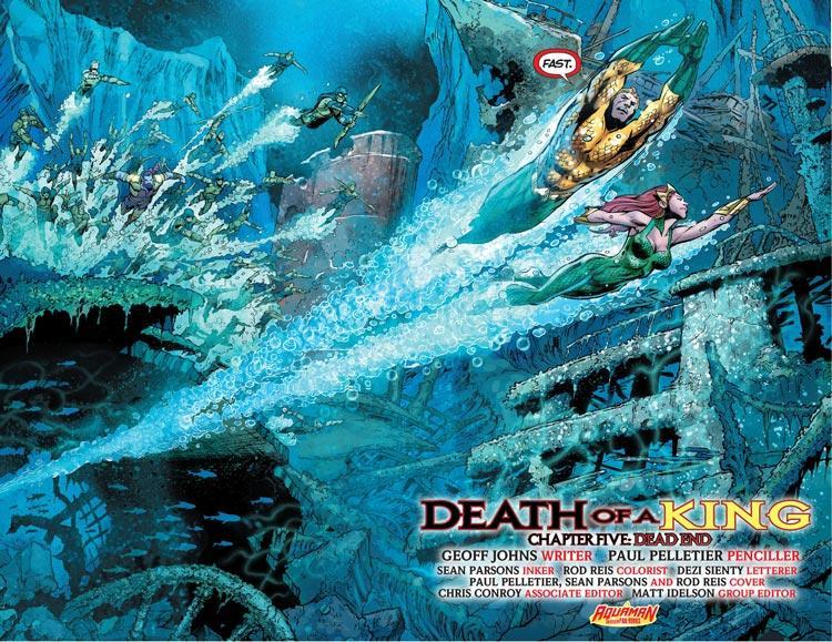 Mera (Aquaman) a través de los años