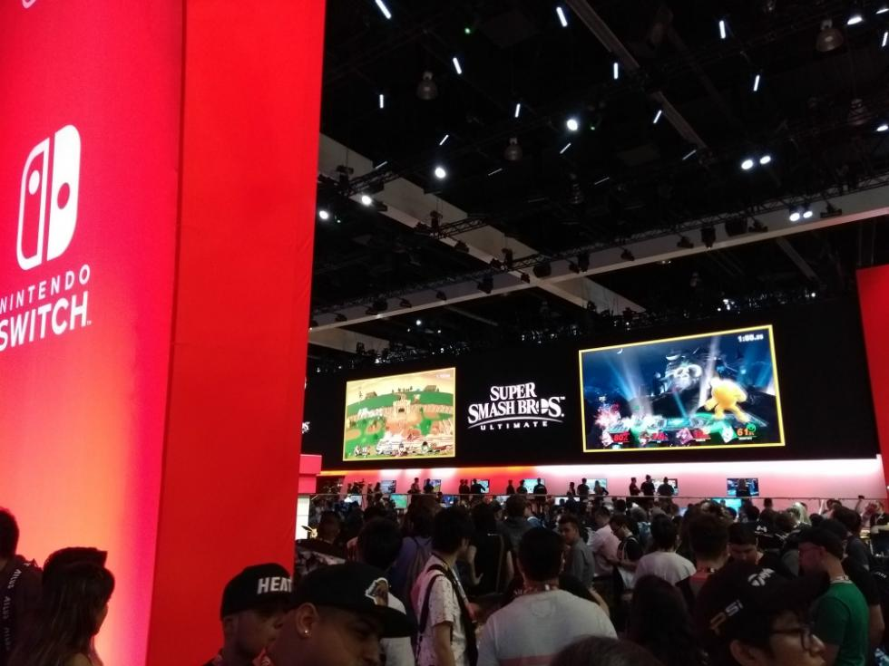 Los stands del E3 2018