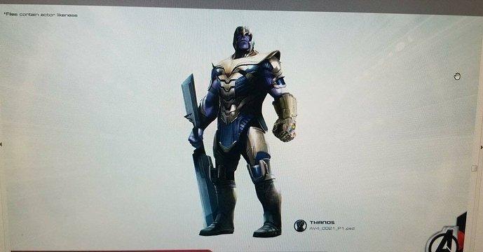 Vengadores 4 Thanos